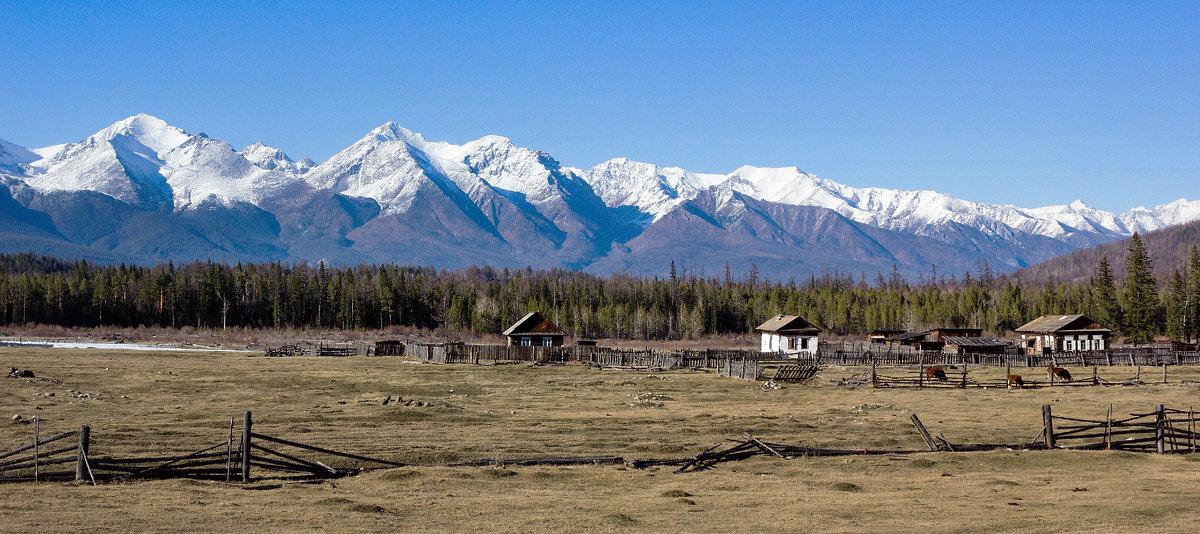 Село у подножия гор - Анатолий Иргл