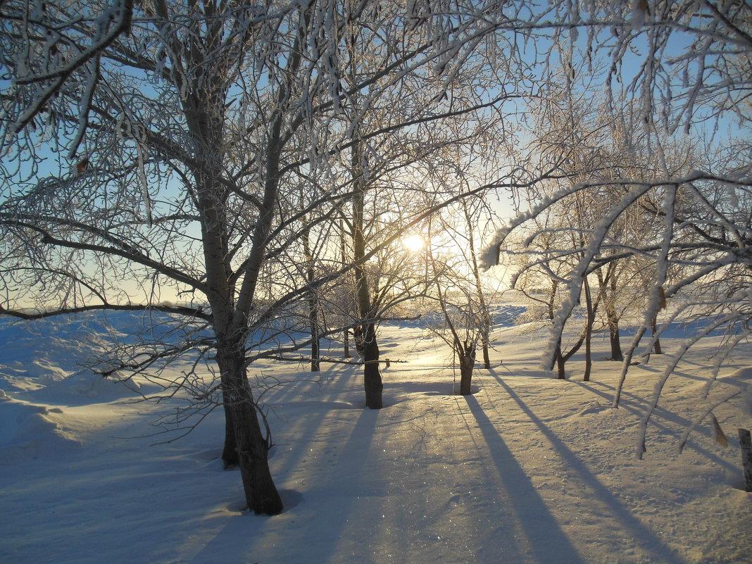 зимний этюд - игорь