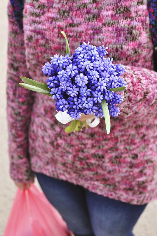 ...синие цветы... - Ольга Нарышкова