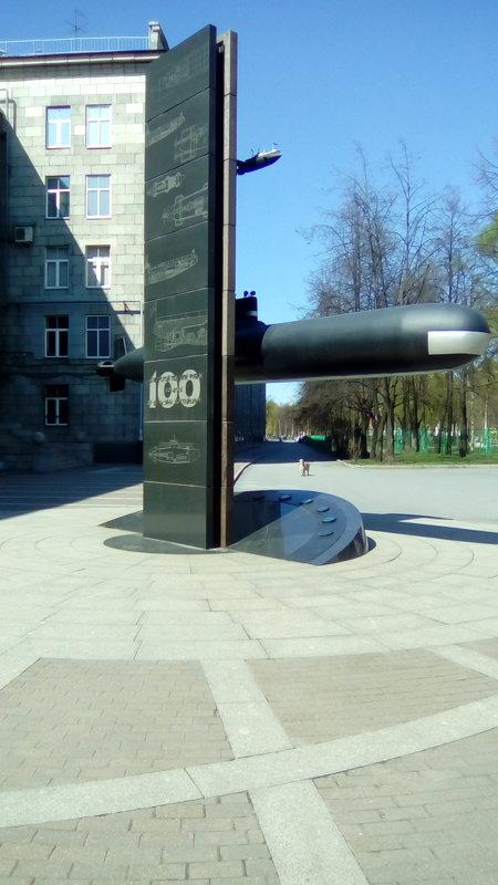 санкт петербург подводная лодка памятник