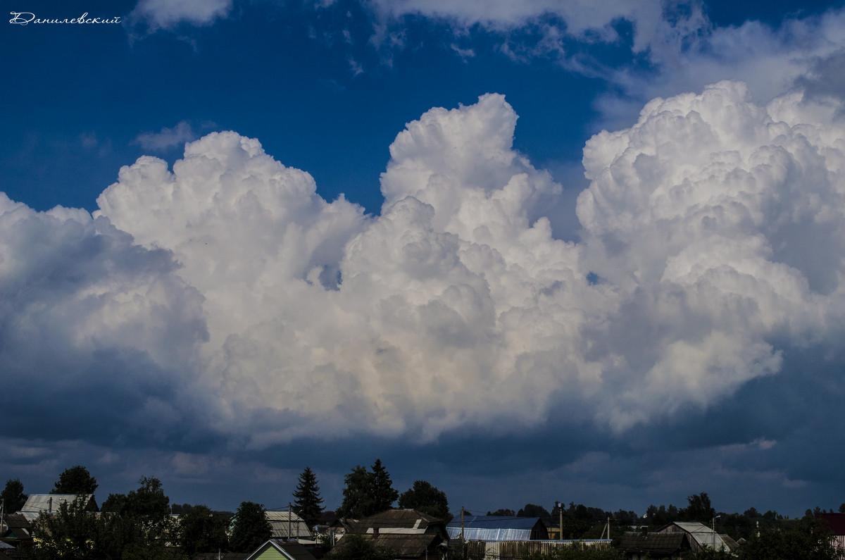 Облака над городом - Павел Данилевский
