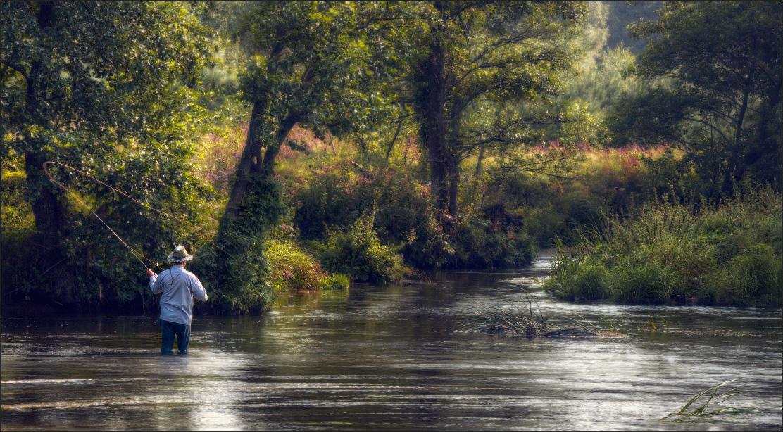 Художественное фото рыбаки