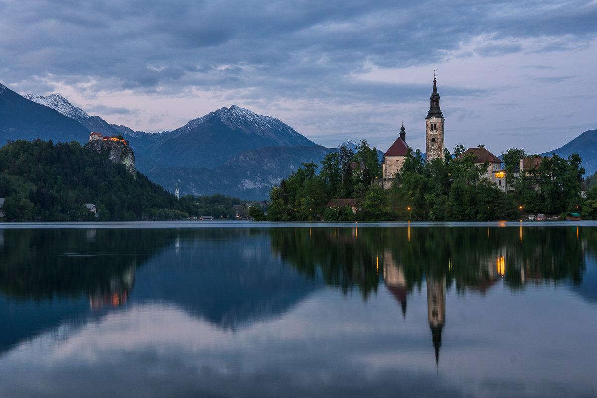 оз.Блед, Словения - Тиша