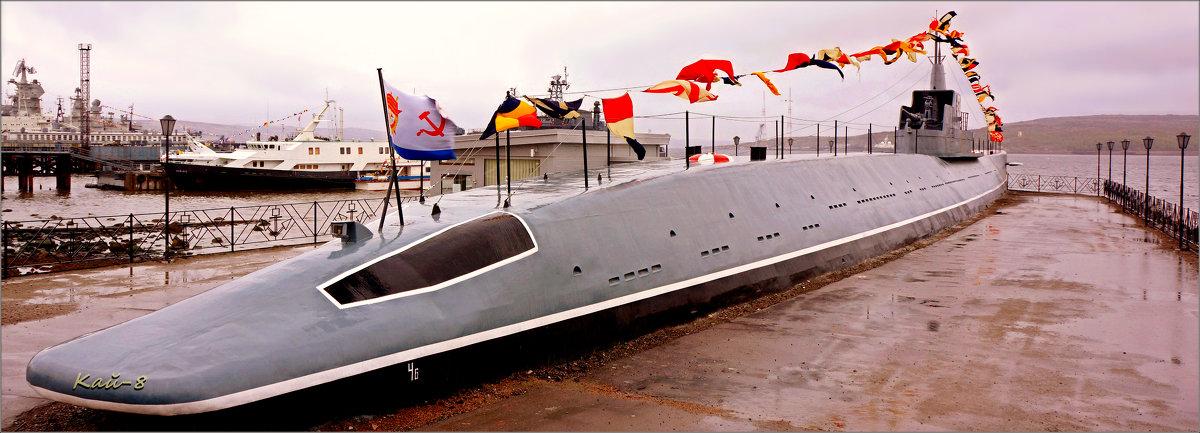 памятник-мемориал подводная лодка к-21 североморск