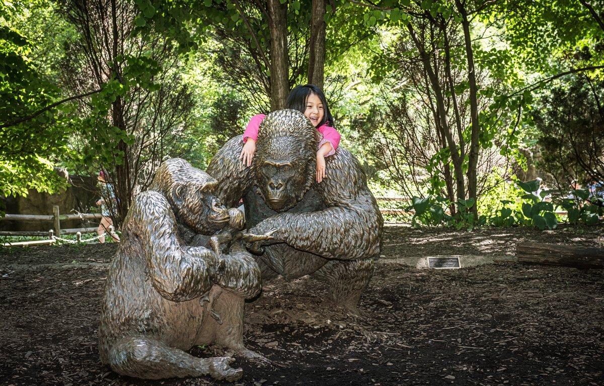 В зоопарке Чикаго - Лёша