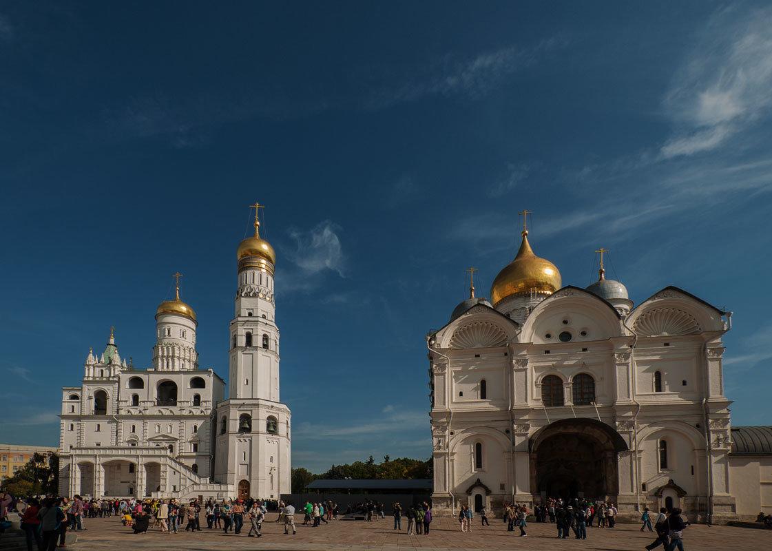 Московский Кремль. Соборная площадь. - Надежда Лаптева