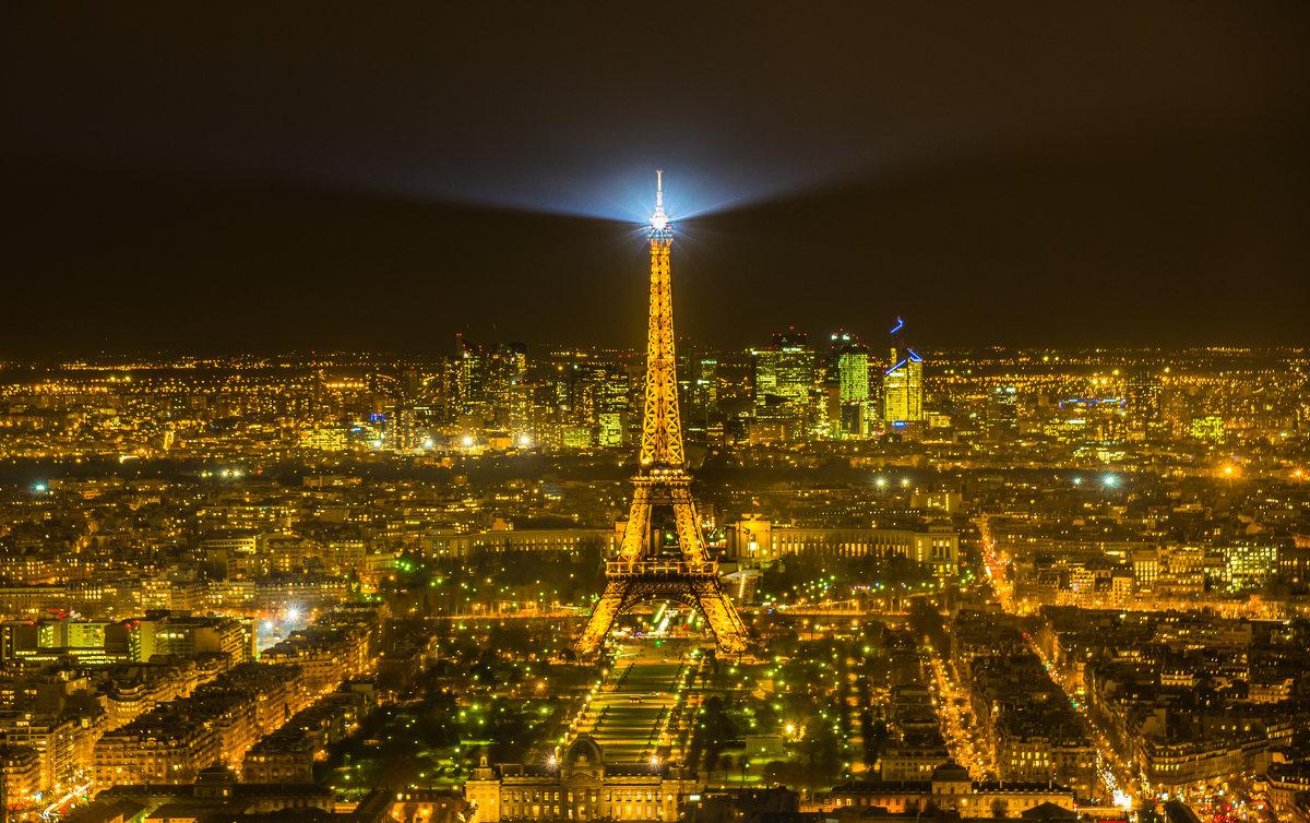 """Город - мечта, город огней. Серия """"la tour Eiffel"""" - Ашот ASHOT Григорян GRIGORYAN"""