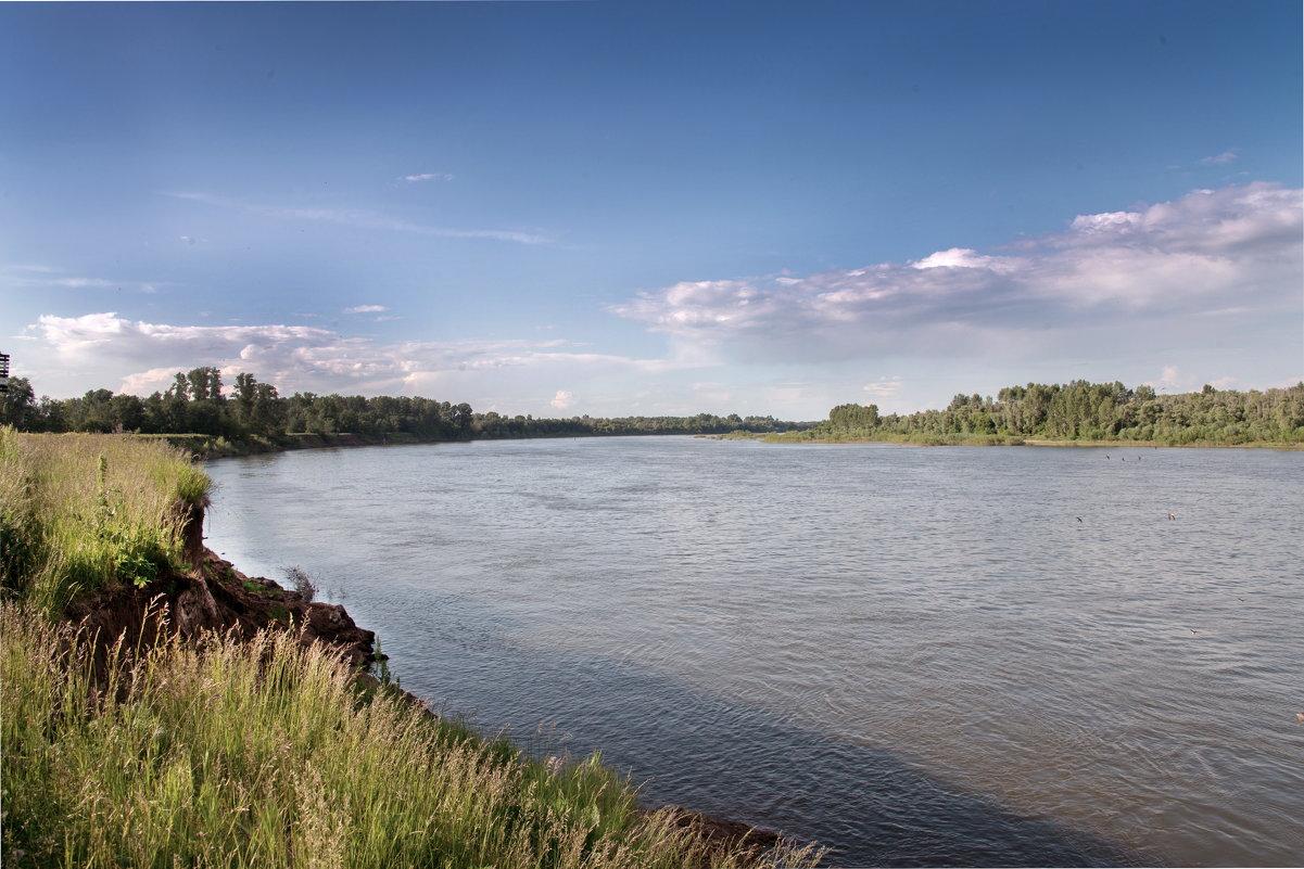 На берегу реки Белой в окрестностях Уфы. - Виктор Куприянов