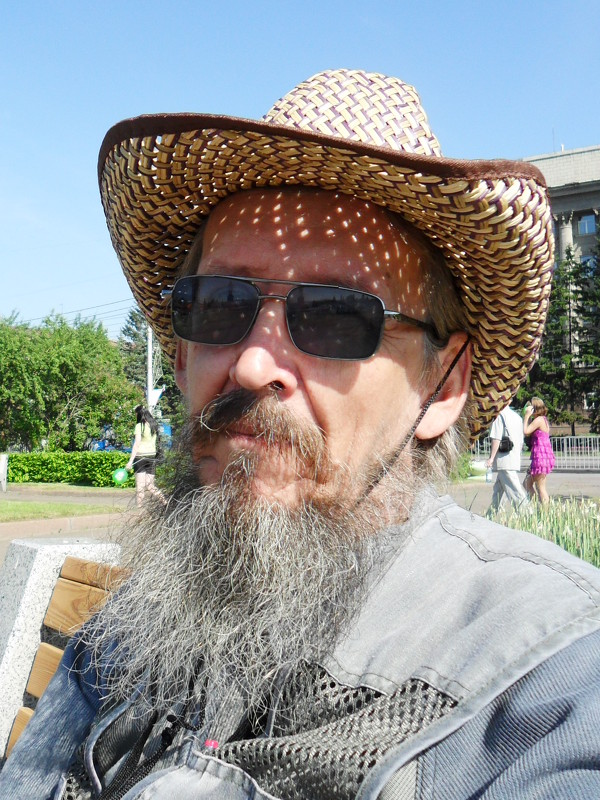 на дне города Красноярска - алексей полковников