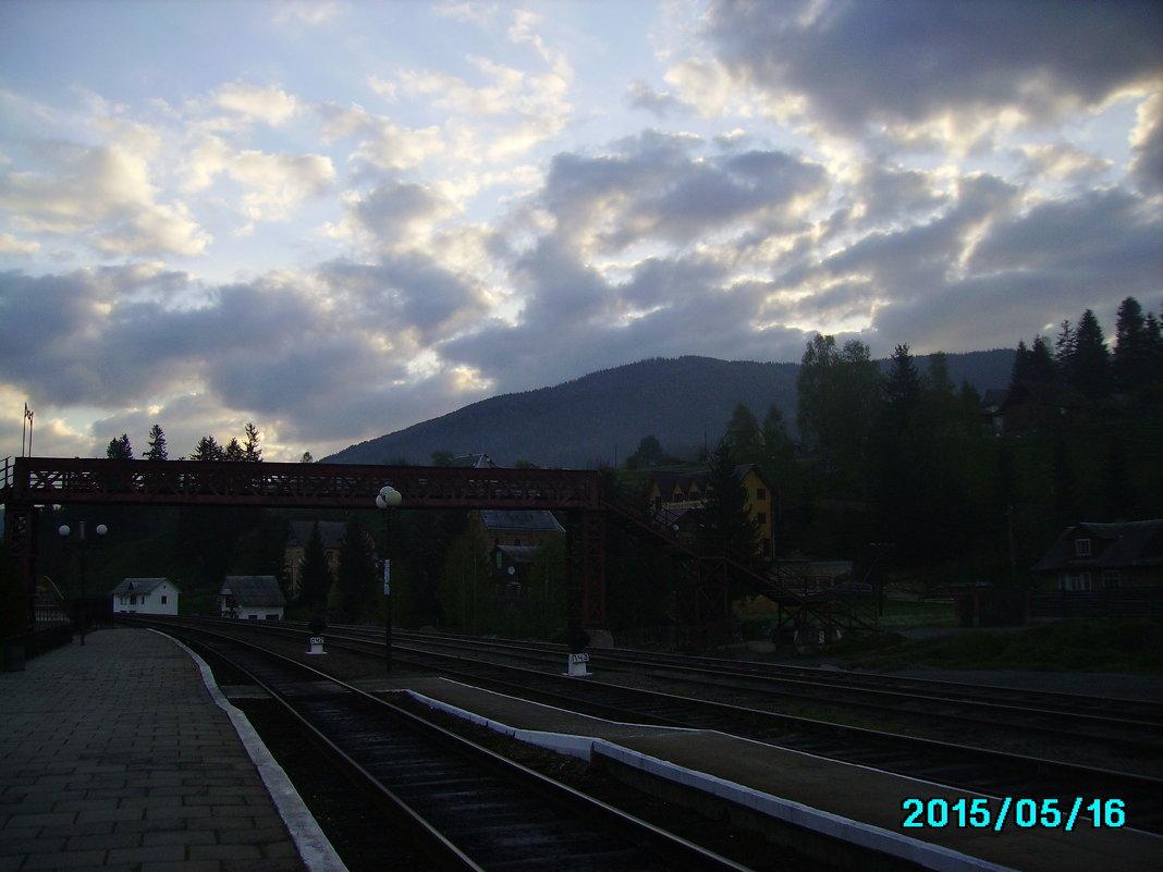 Утро  в   Ворохте - Андрей  Васильевич Коляскин