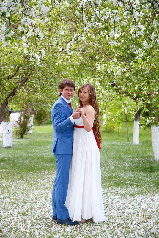 Весенняя свадьба - Ксения