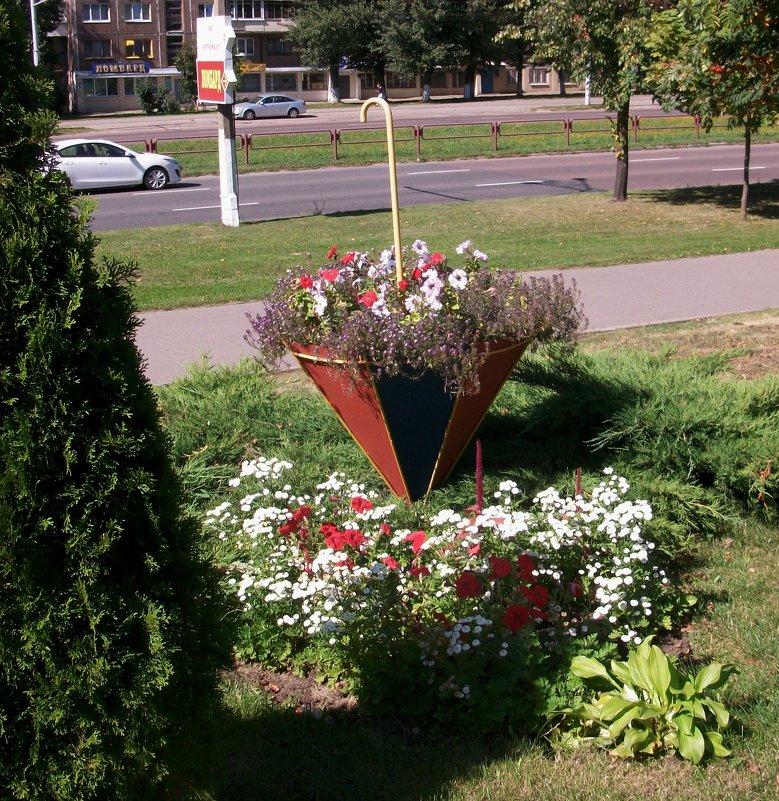 Городские цветы - Галина Бобкина