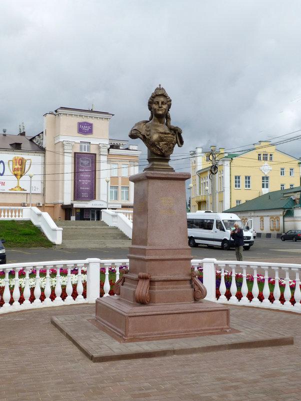Памятник Екатерине II, 2016 год. - Наиля