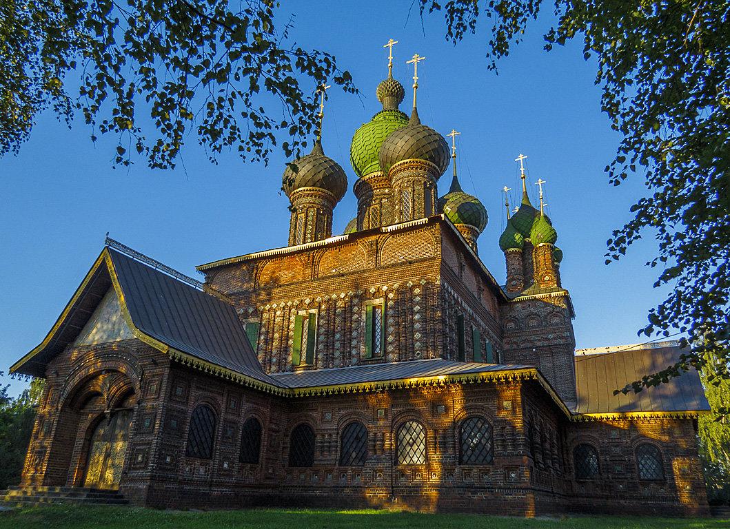Церковь Иоанна Предтечи в Толчкове,1671-1687г.г. - Сергей Цветков