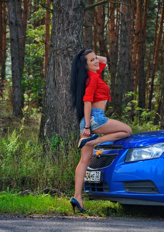 тайная реклама Шевроле) - Наталия Григорьева