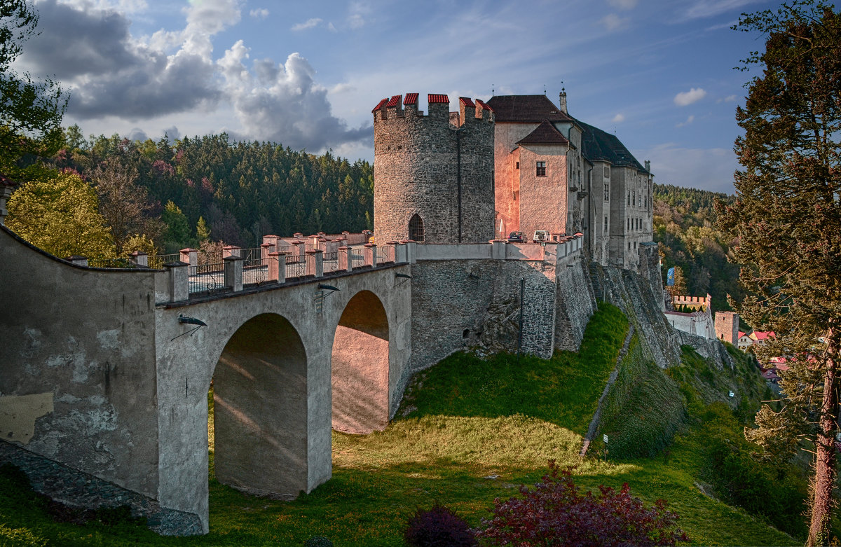 Замок Чески-Штернберк, Чехия - Priv Arter
