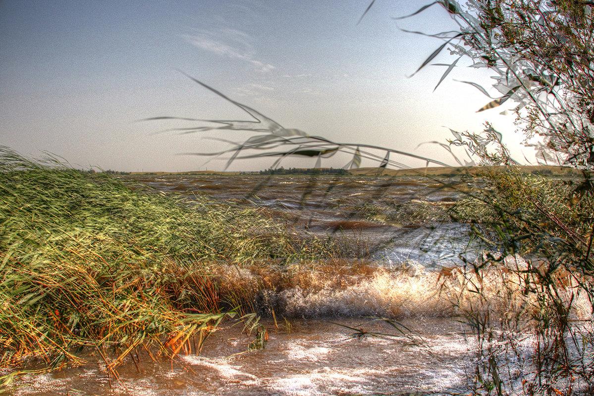 Прибой на озере - Сергей