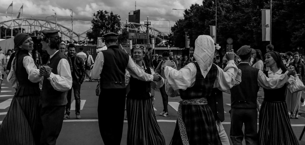 песни и танцы - Anrijs Slišāns