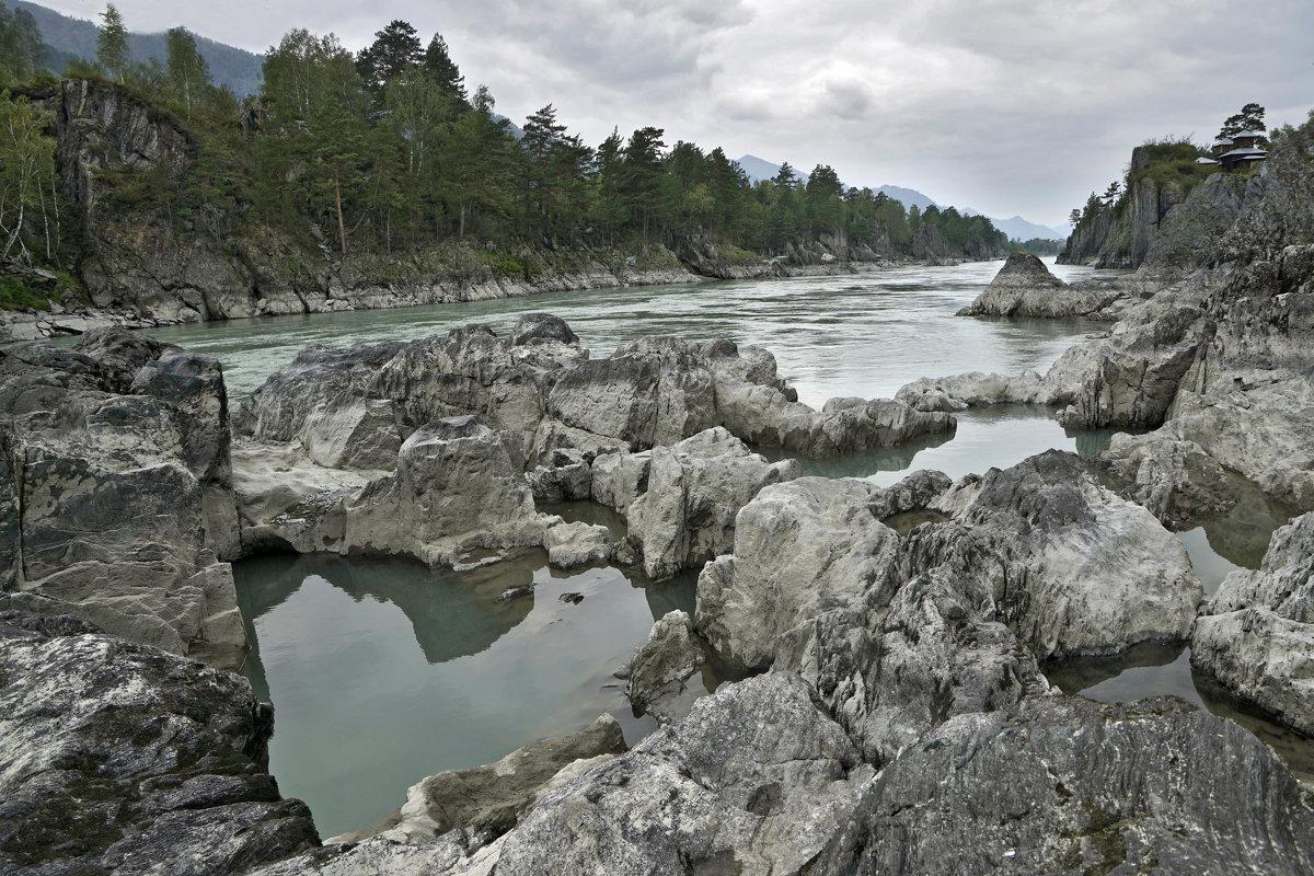 Алтай, река бирюзовая Катунь - Сергей Завьялов