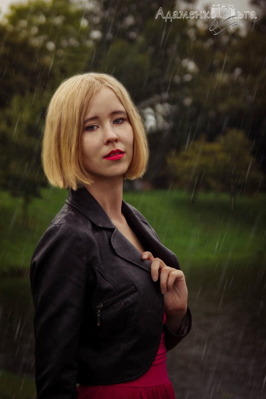 прогулка под дождем - Ольга Адаменко