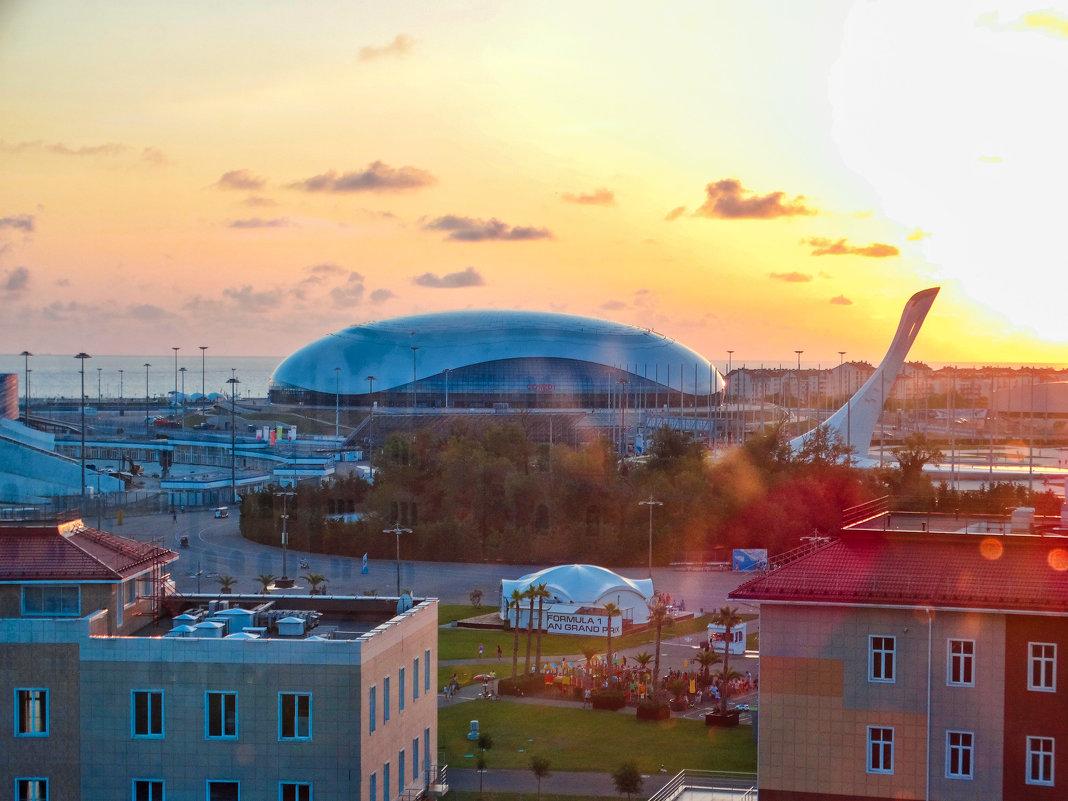 Олимпийский парк( с высоты) - Zhanna Abramova