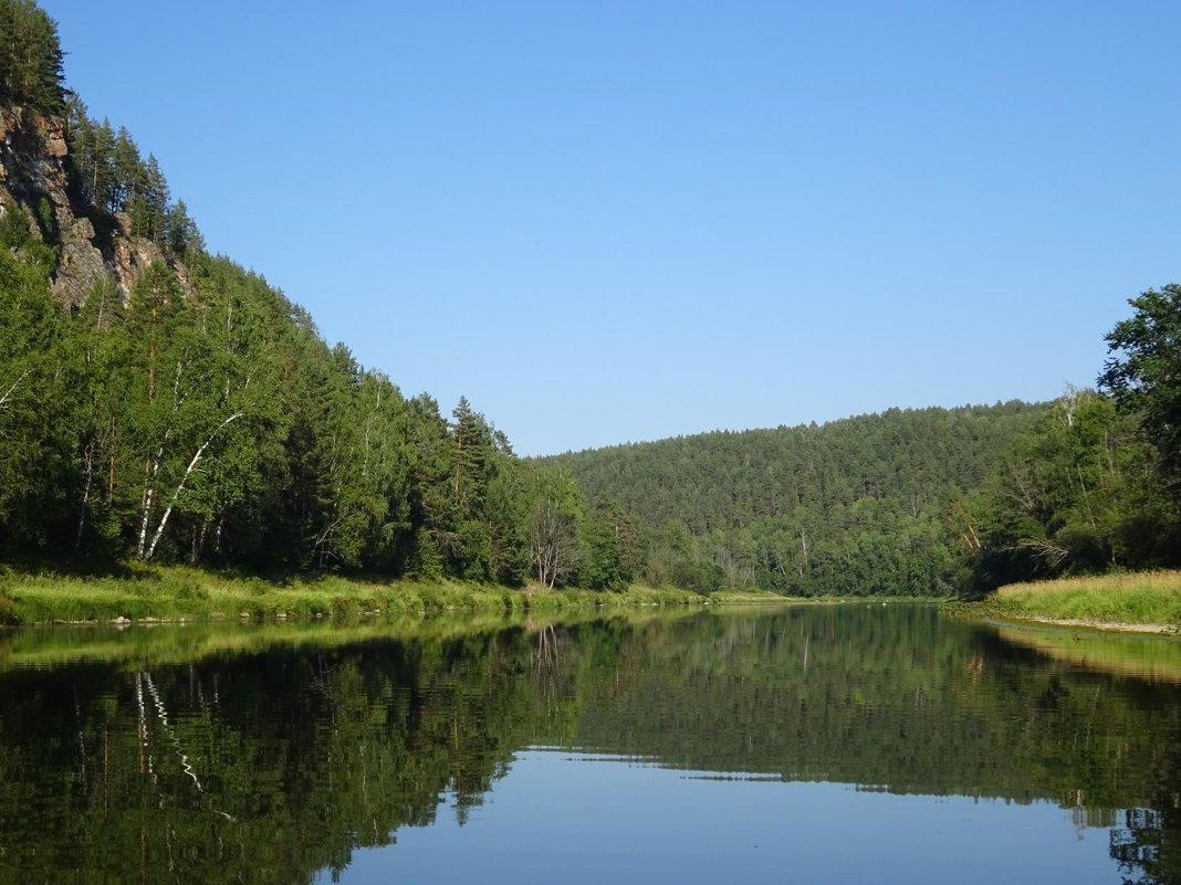 Река Юрюзань - Татьяна Ушакова