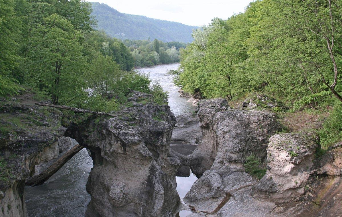 Адыгея. Река Белая - Tata Wolf