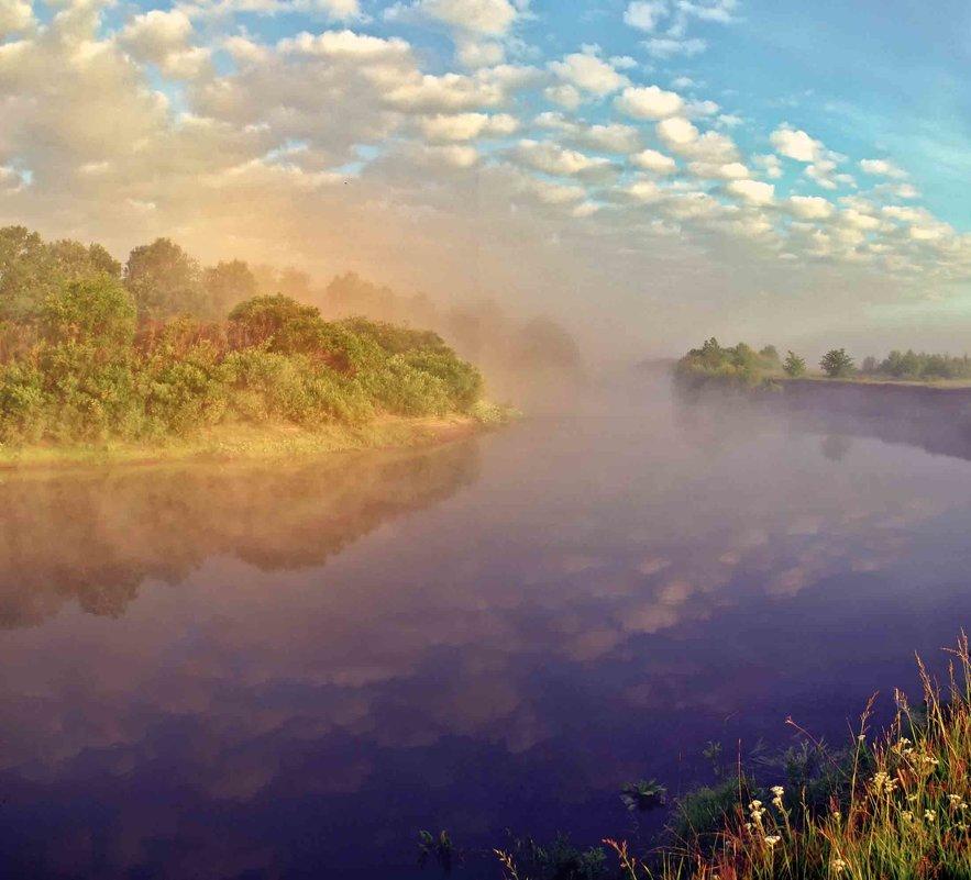 утро.солнце встало.туман... - юрий иванов