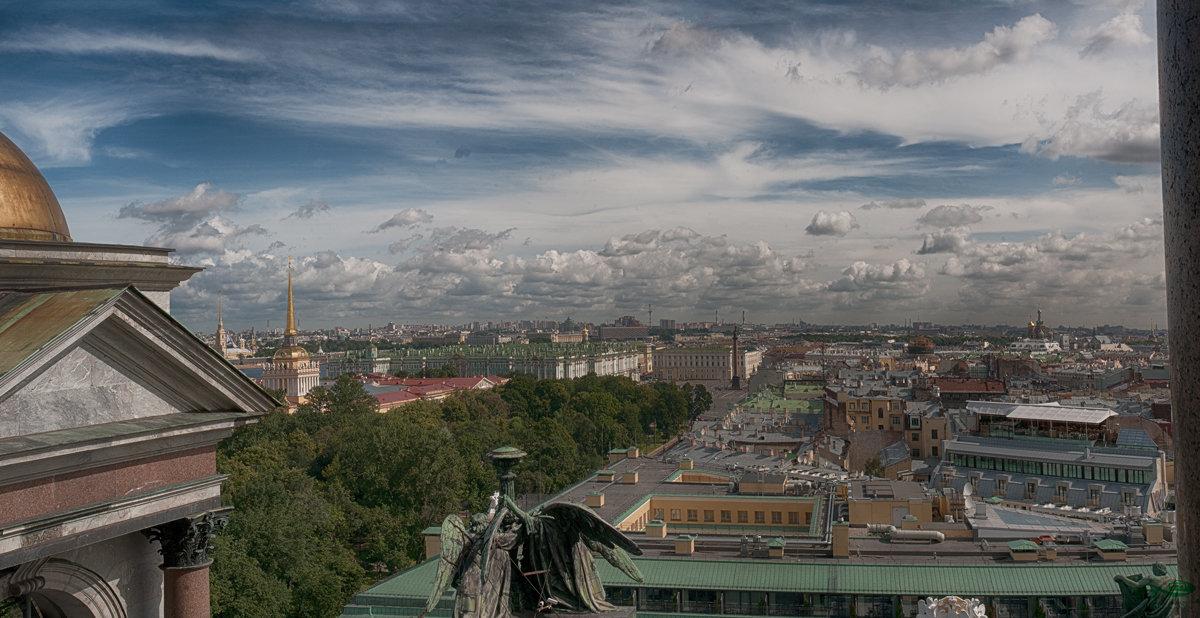 С высоты птичьего полета(Санкт-Петербург) - Александр Лебедев