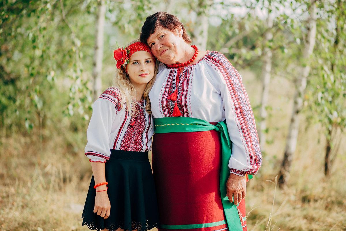Бабушка и внучка - Виктор Федоров