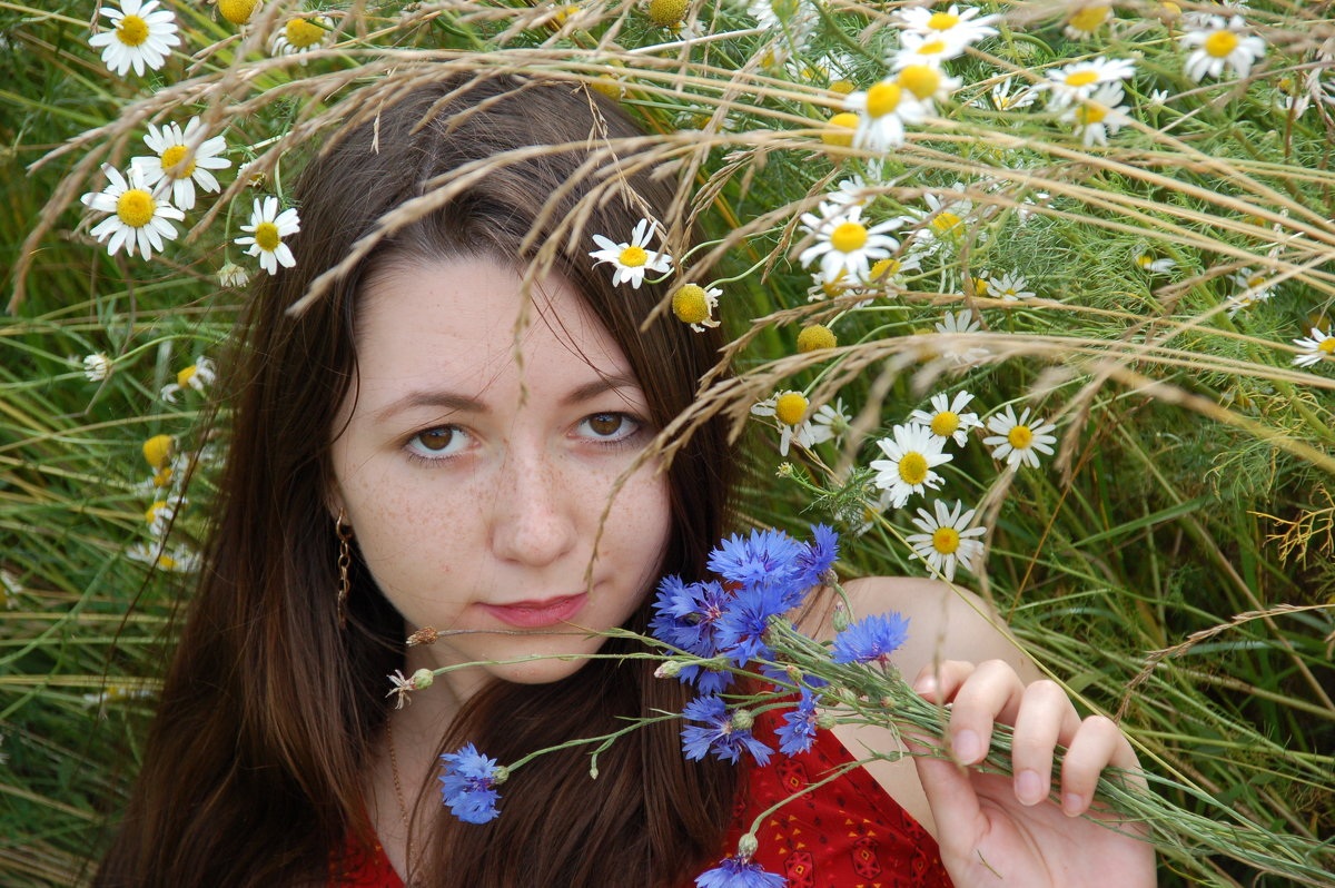 В поле - Светлана Двуреченская