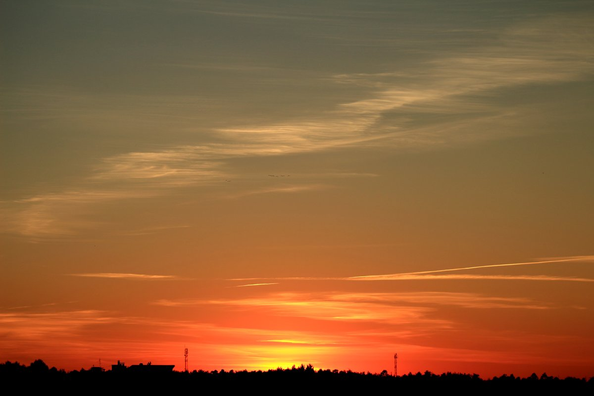 Закат 24 августа 2015 - Михаил Аленин