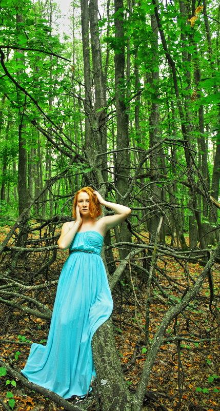 Лесная нимфа - Фото Яника