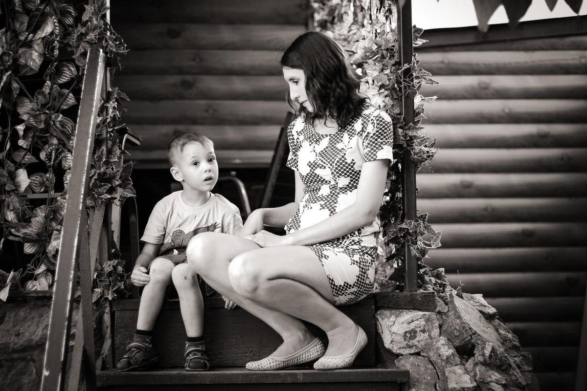 Мама и сын - Екатерина