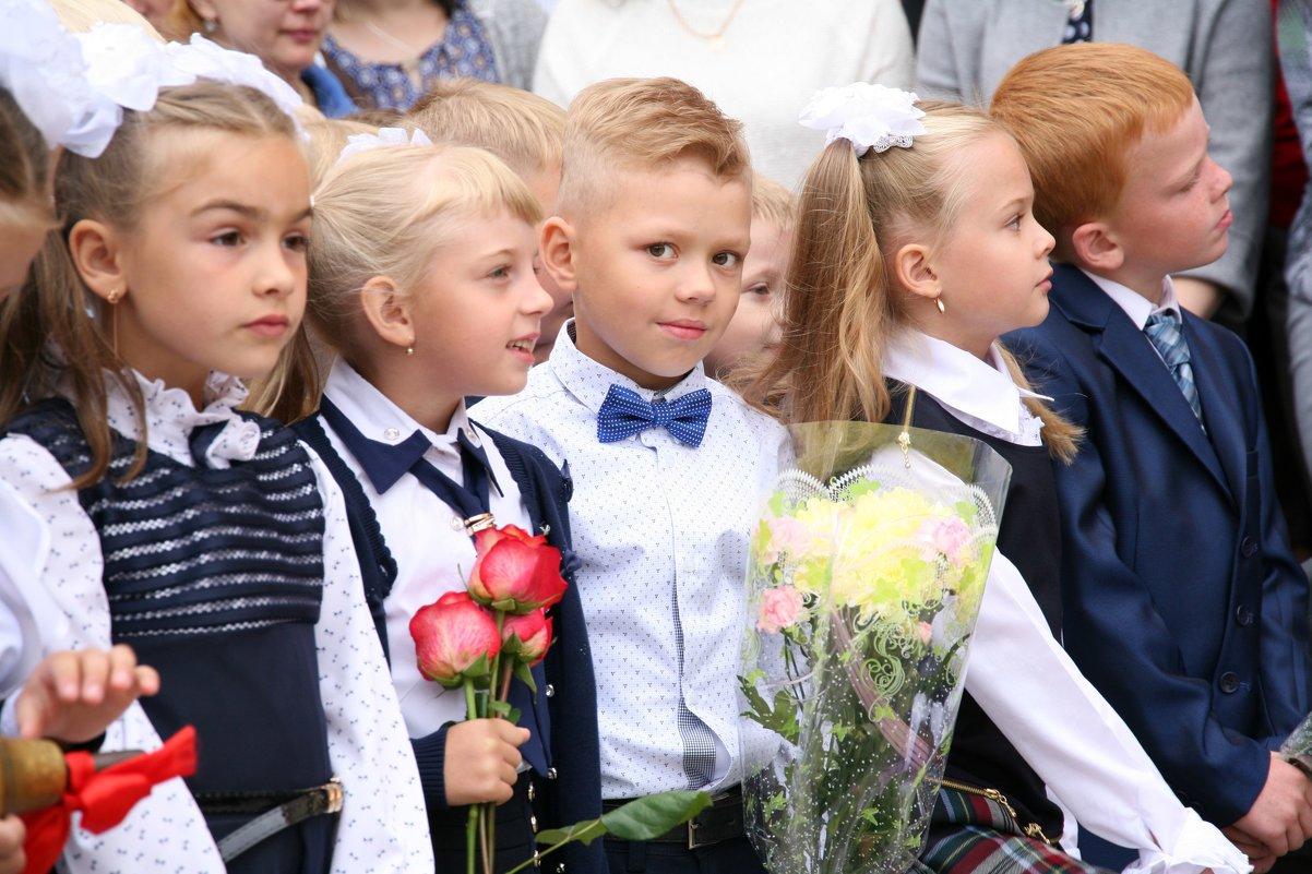 Первый раз в первый класс))) - Ольга Фомичева