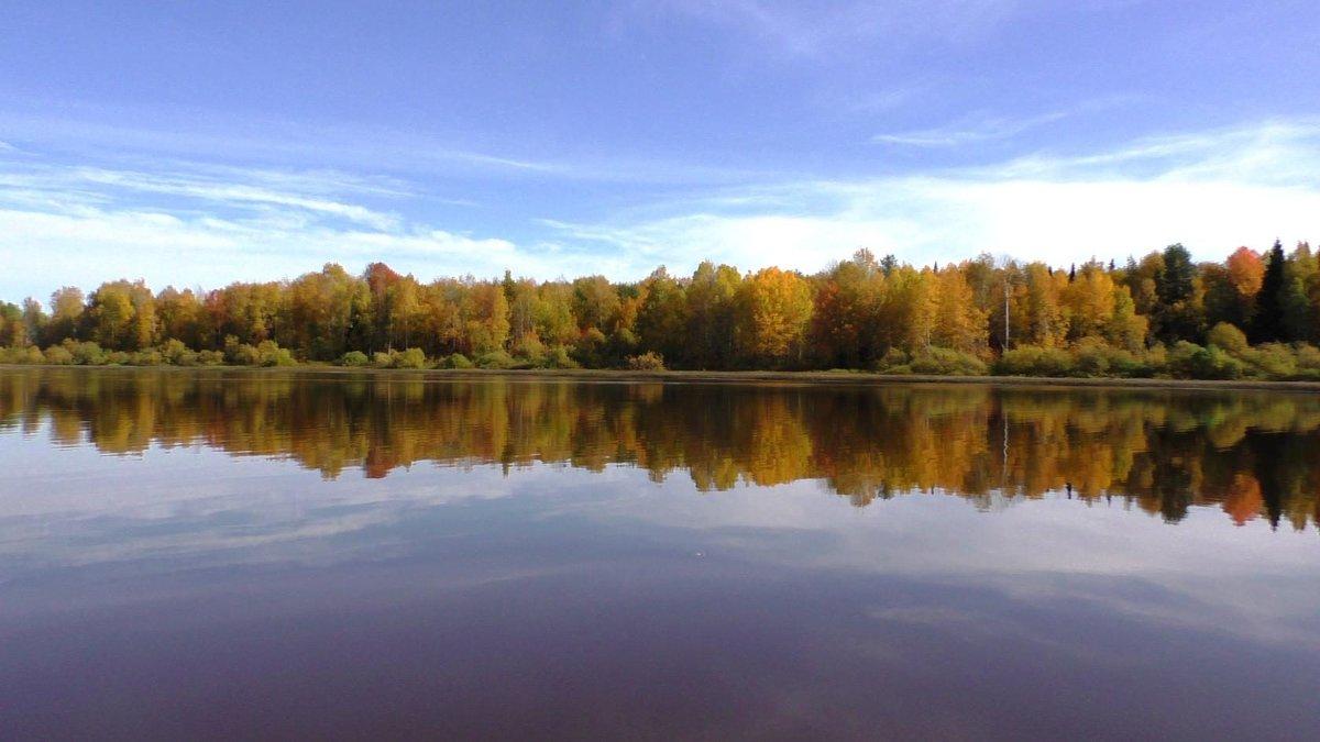 Осень на каме - Ирина Останина
