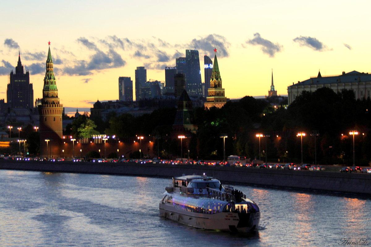 .. Городской пейзаж (этюд №1) - Арина Дмитриева