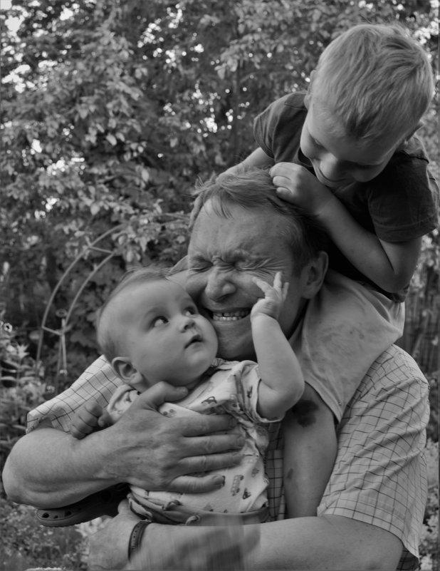 """""""Нелегкие""""и счастливые будни дедушки! =) - Mila Kulikova"""