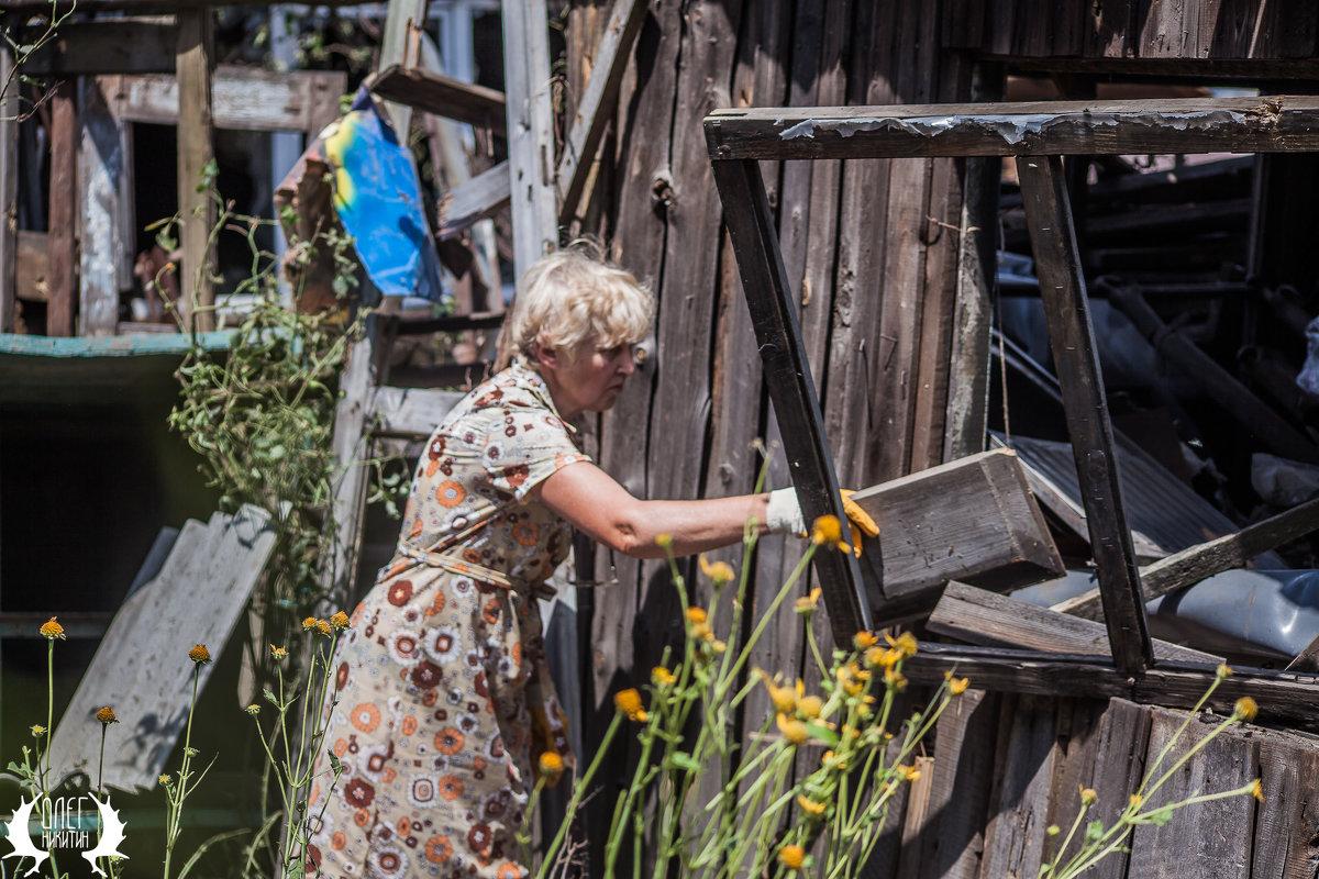 после обстрела - Олег Никитин