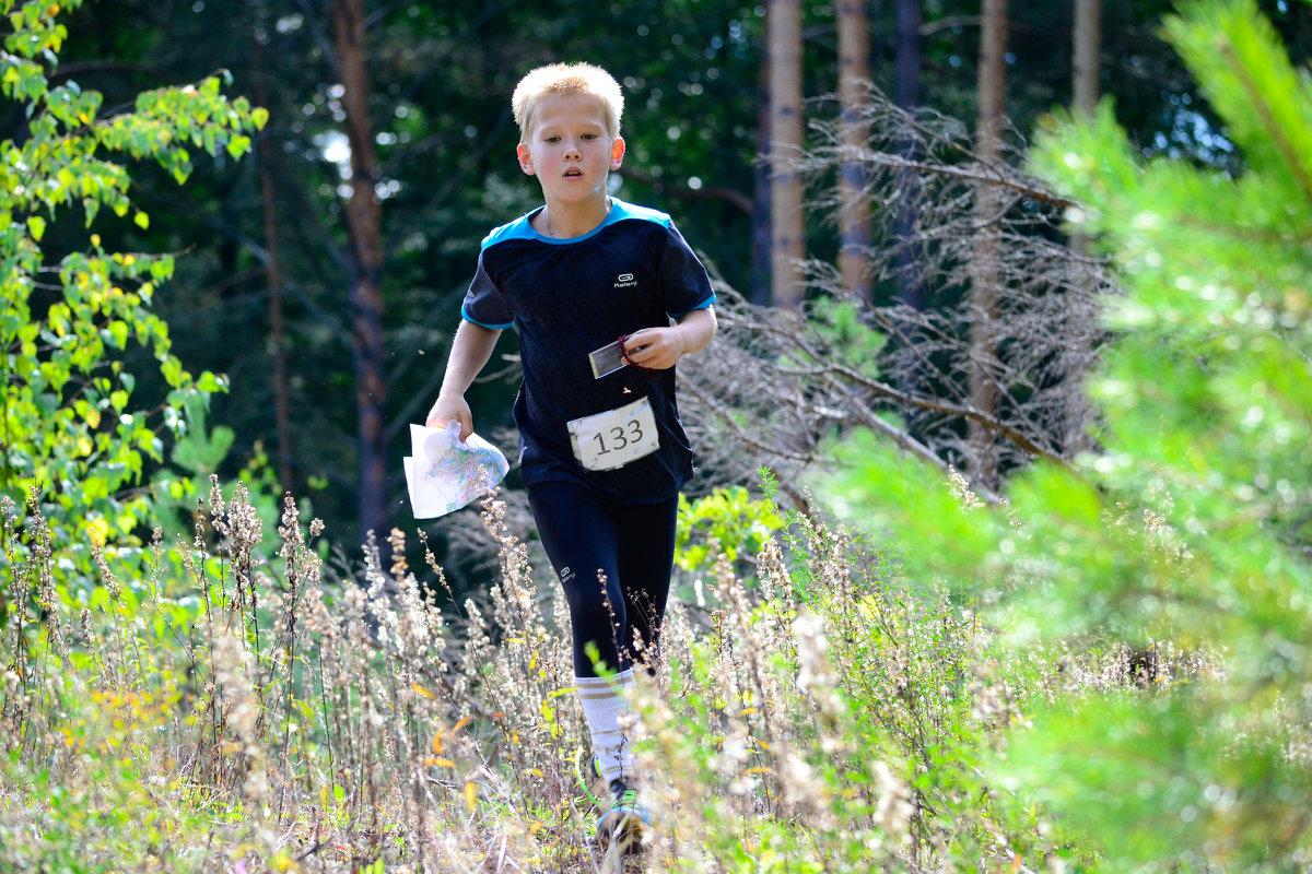 Люди бегут по лесу - Алексей Шестаков