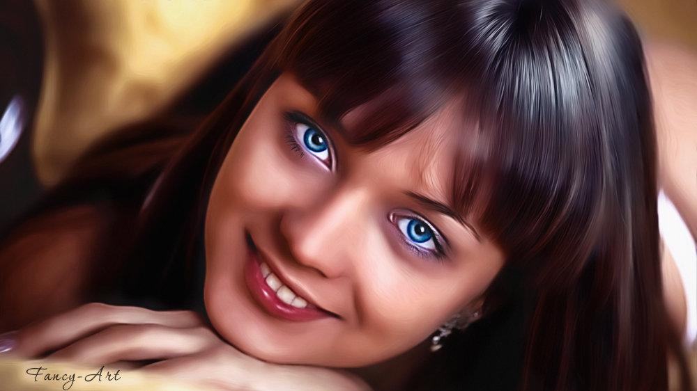 Портрет девушки - Лариса Соколова
