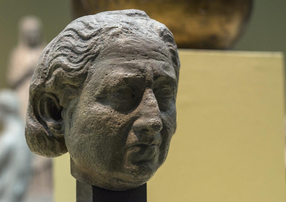 Портрет пожилой женщины, II век н.э. - Анатолий Бастунский