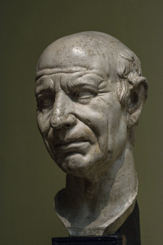 Портрет старого римлянина, I в. н.э. - Анатолий Бастунский