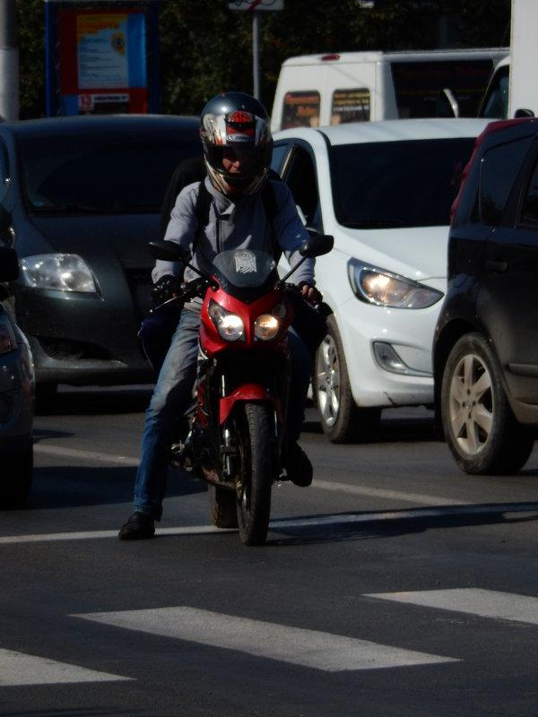 мотоциклист - Александра