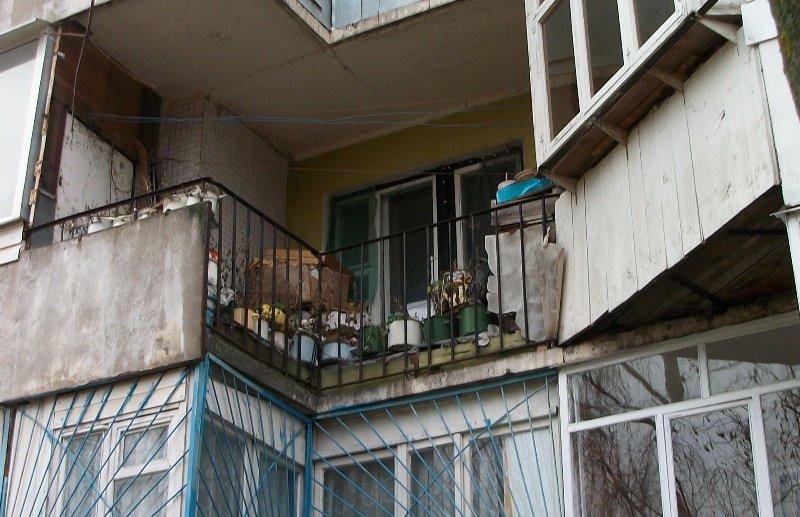 "Балкон ""Изгнание кастрюль"") - Галина Бобкина"