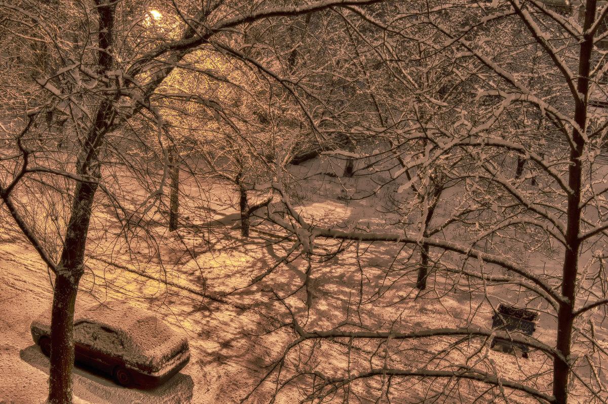 Фото из окна - Олег Зак