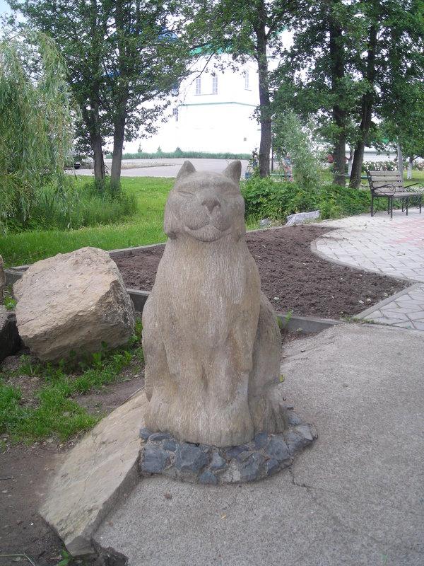 Памятник Казанскому коту - марина ковшова