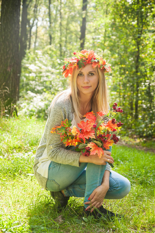 Осенняя фотосъемочка - Anna Enikeeva