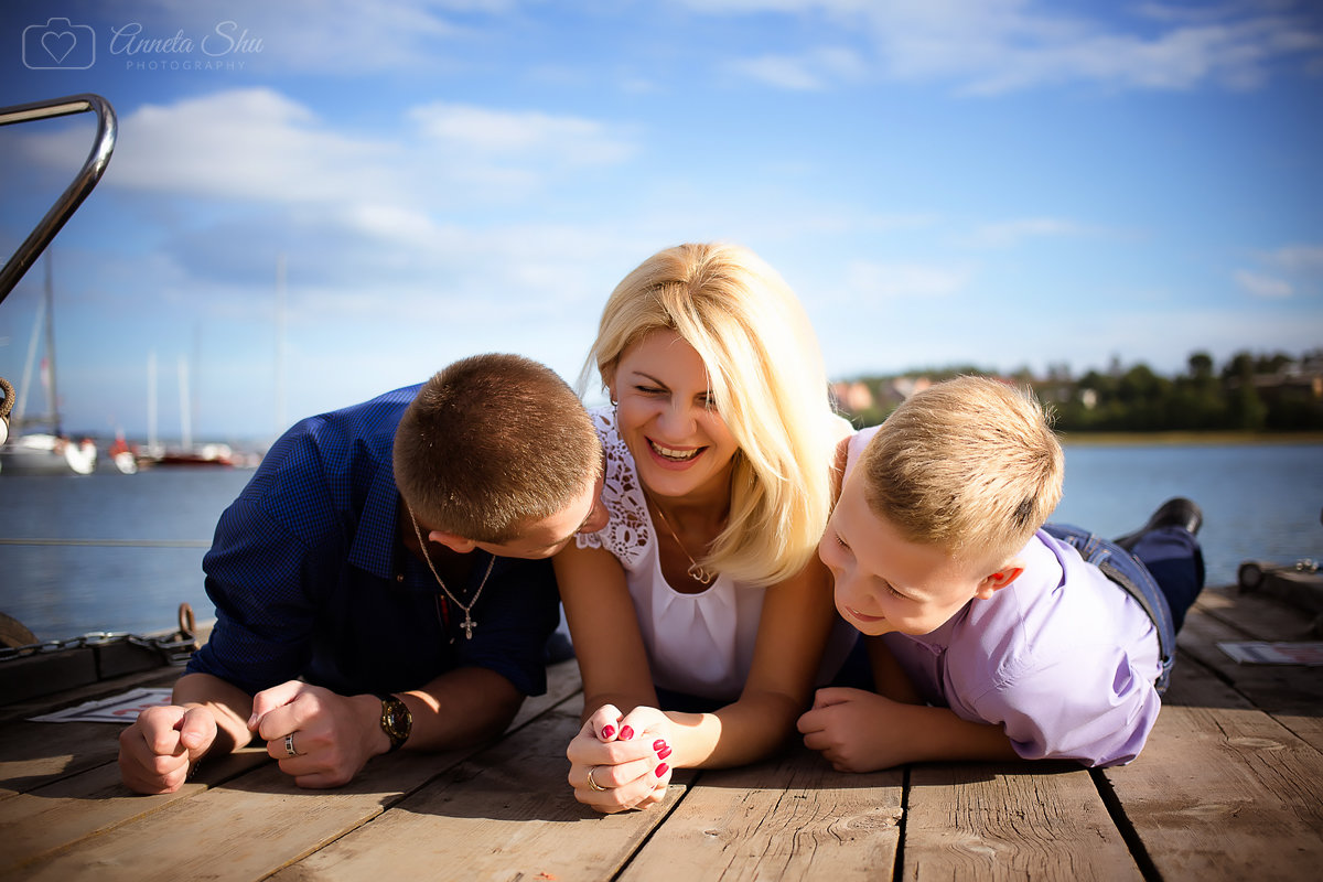 Какое счастье быть мамой двух замечательных ребят!!! - Аннета /Анна/ Шу