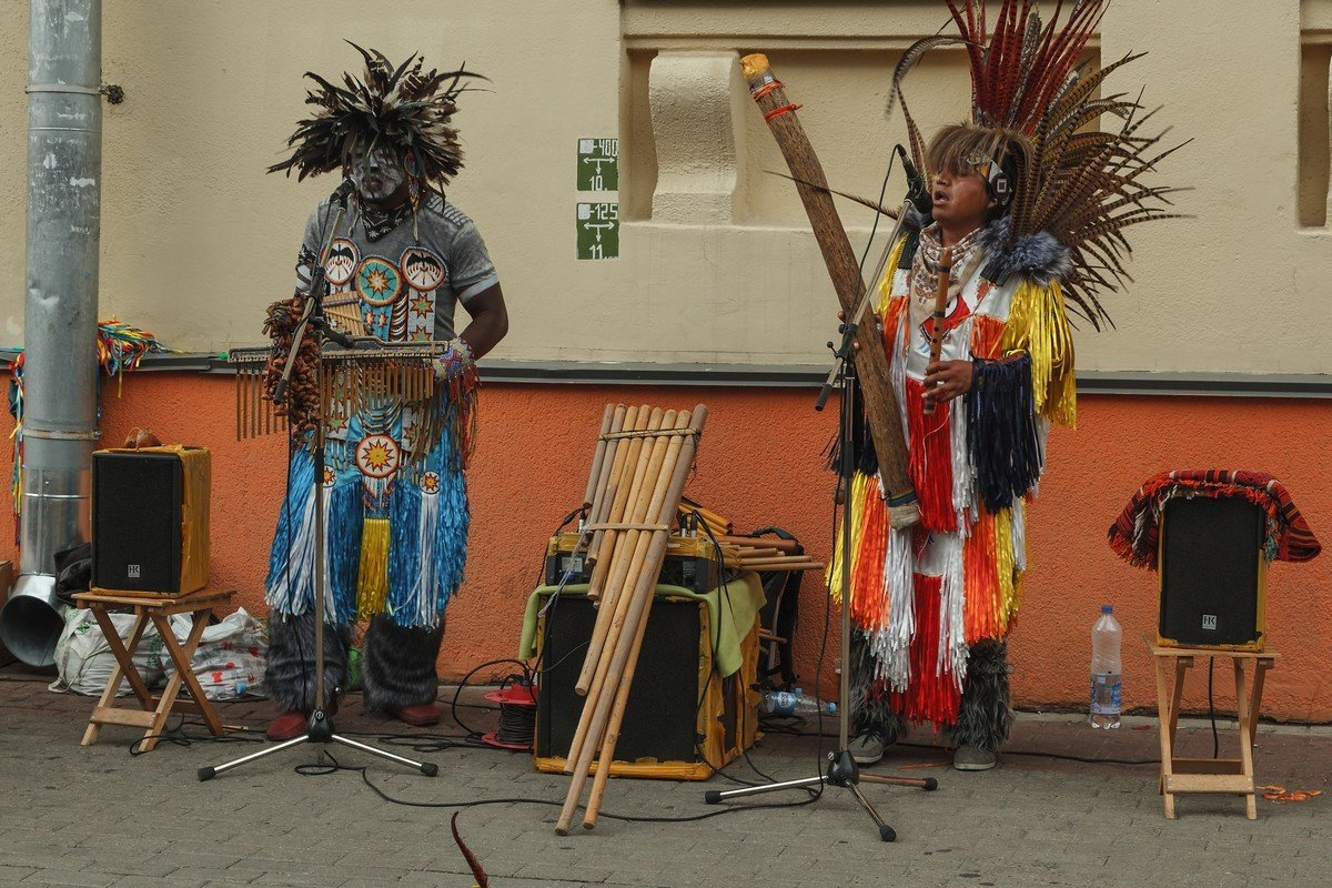 Латиноамериканские музыканты в Минске. - Александр Манько